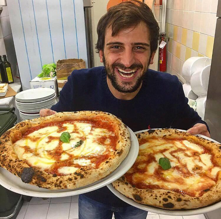 Vincenzo Falcone e le sue pizze