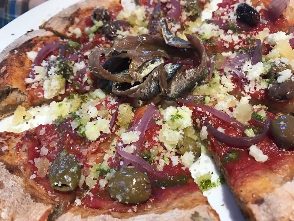 Gusto Madre, la pizza
