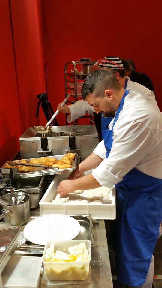 La pizza fritta di Pasquale e Gaetano Torrente