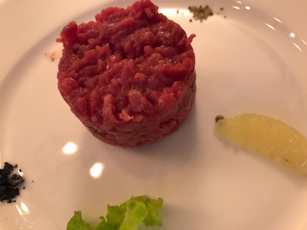 Osteria del Vicoletto, la carne cruda