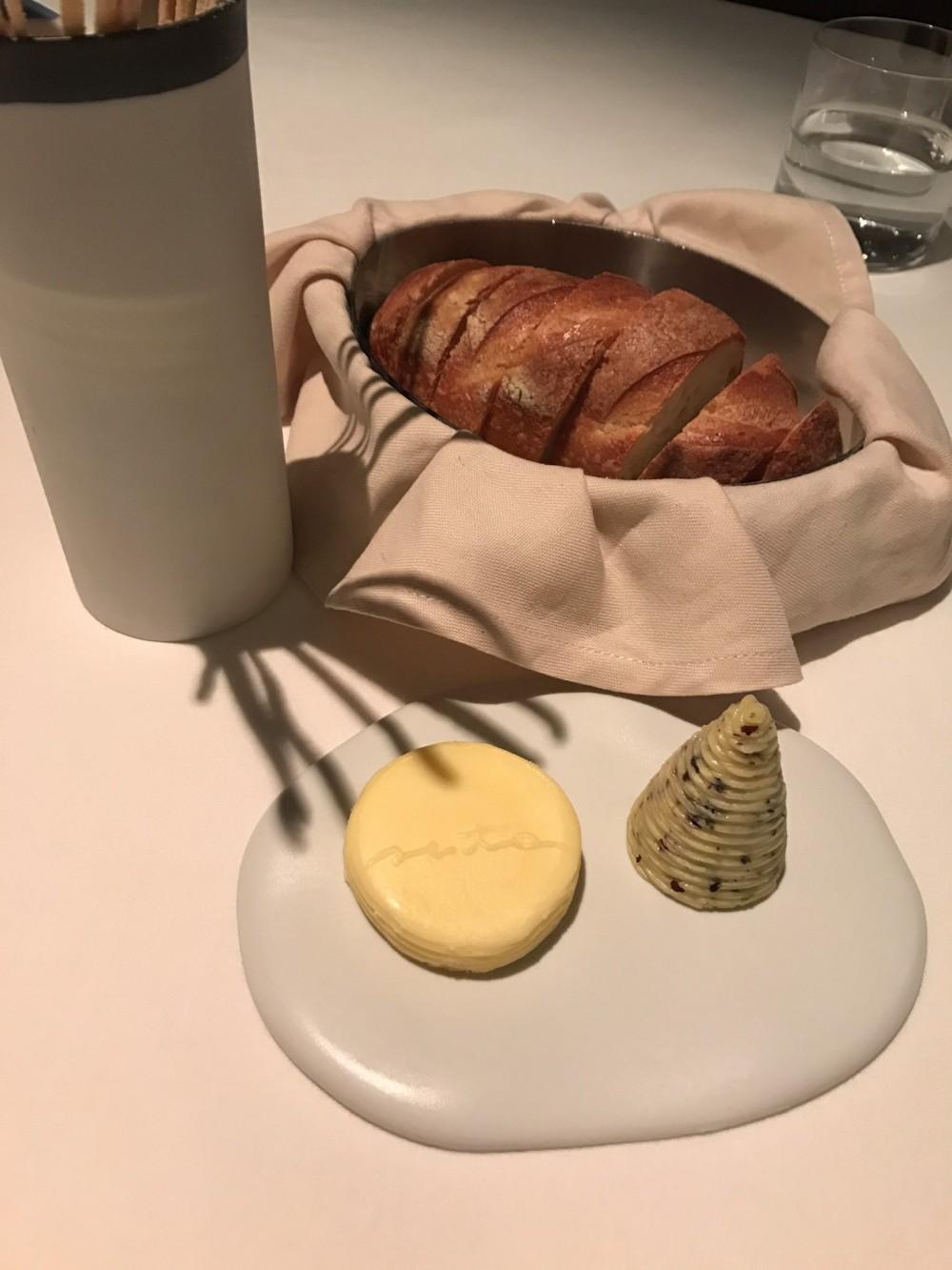 Seta del Mandarin, il pane e il burro