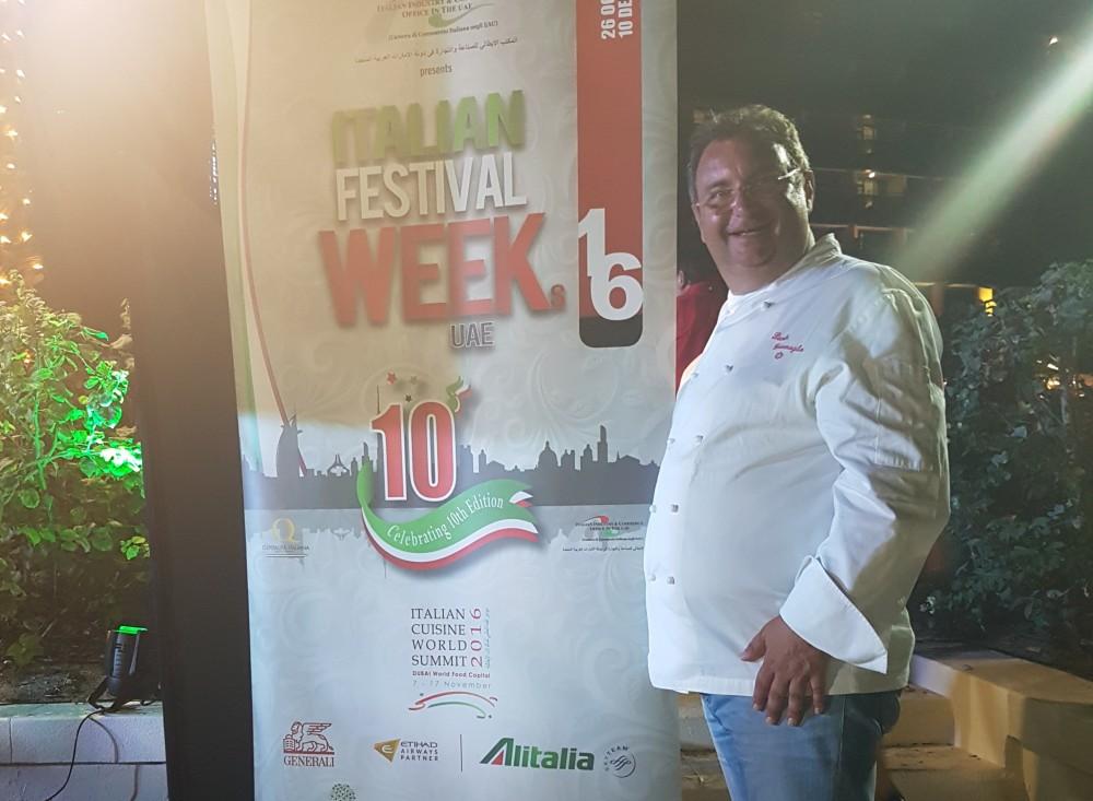Abu Dhabi Dubai chef Paolo Gramaglia