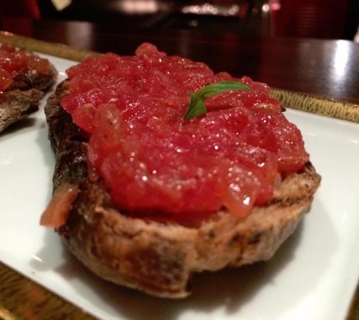 Atelier de Robuchon, aperitivo, pane e pomodoro