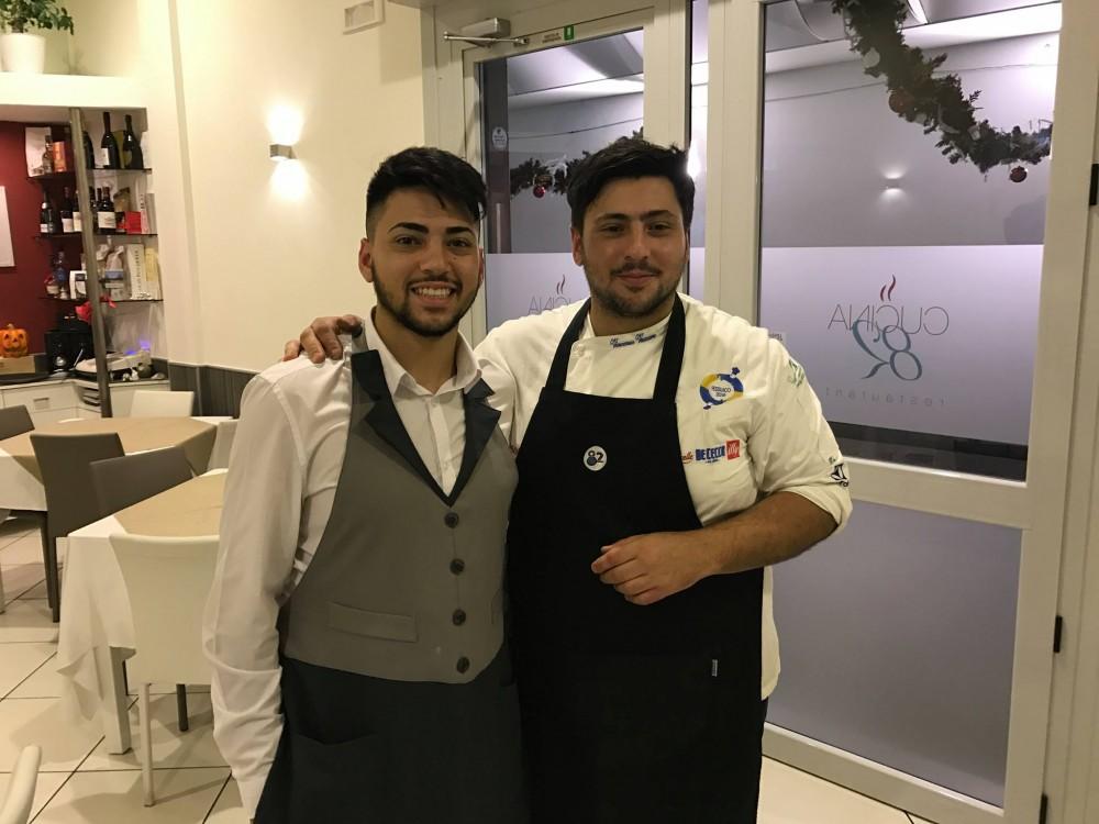 Cucina 82, Giuliano e Vincenzo Vaccaro