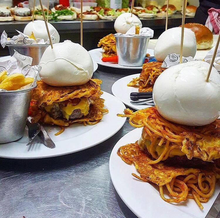 Hamburger  Delicious, Mamma Enza