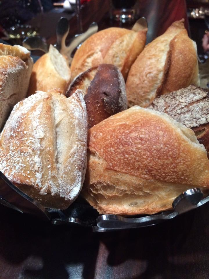 Atelier de Robuchon, il pane