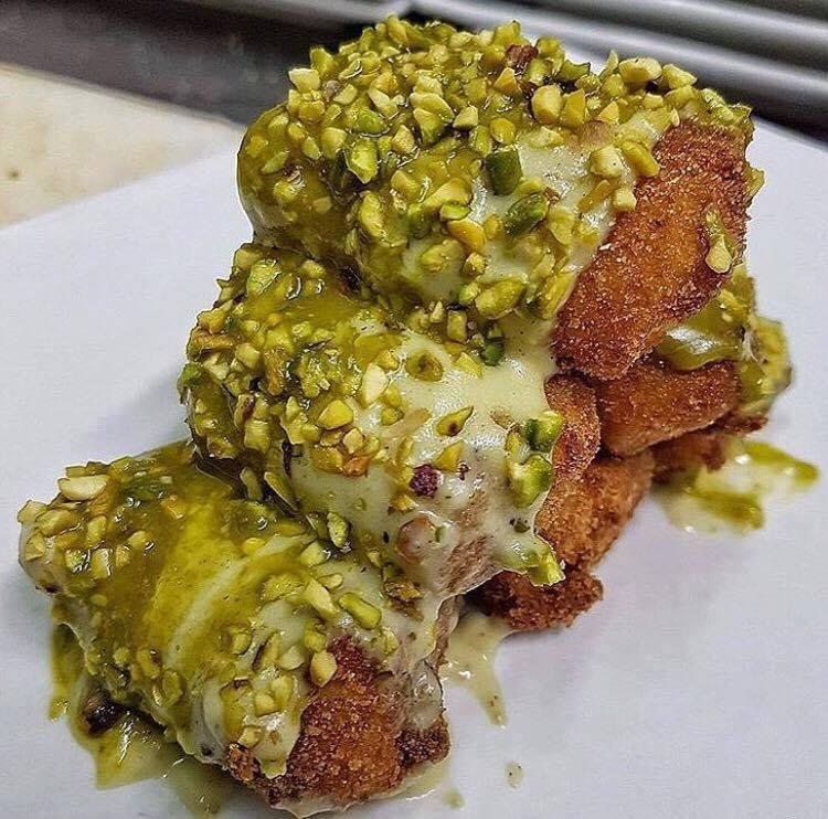 Hamburger  Delicious, Paccheri ripieni