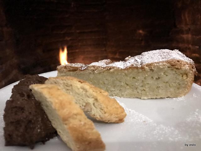 Antica Trattoria Innarone Daniele Vanore pastiera di riso cioccolata biscotti