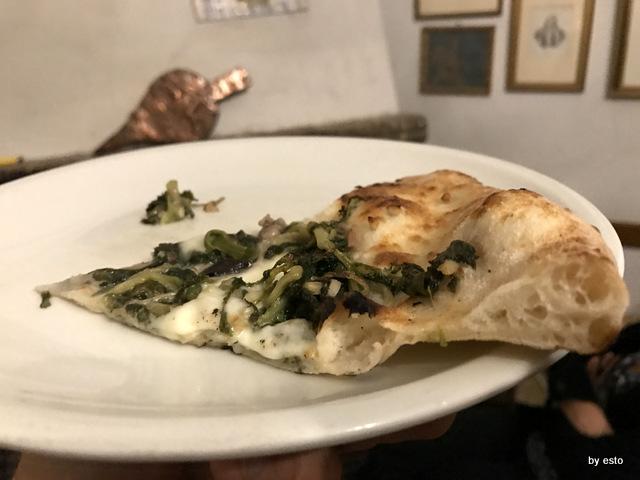 Antica Trattoria Innarone Daniele Vanore pizza scarola riccia fiordilatte il trancio