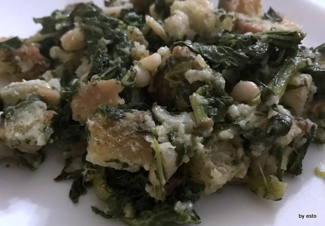 Antica Trattoria Innarone il pancotto di broccoli e fagioli