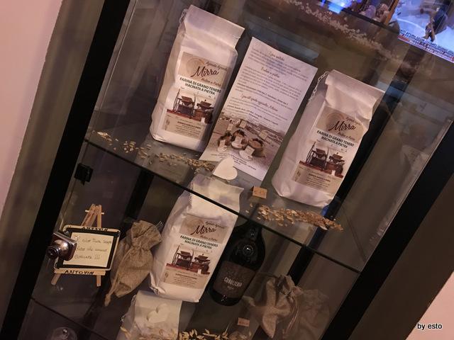 Antovin Alessandro Tirino la selezione di farine da grani antichi