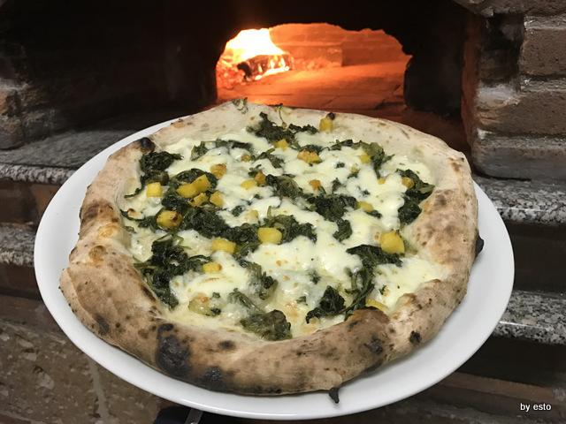 Antovin Alessandro Tirino pizza Nonna Mia con impasto da grani antichi