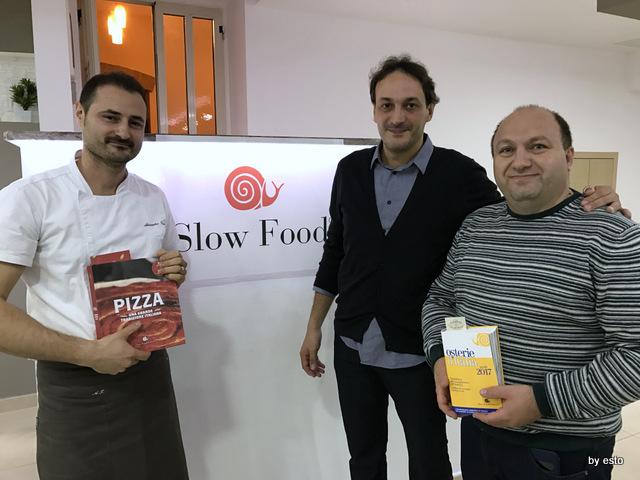 Antovin Alessandro Tirino serata Slow Food per grani antichi