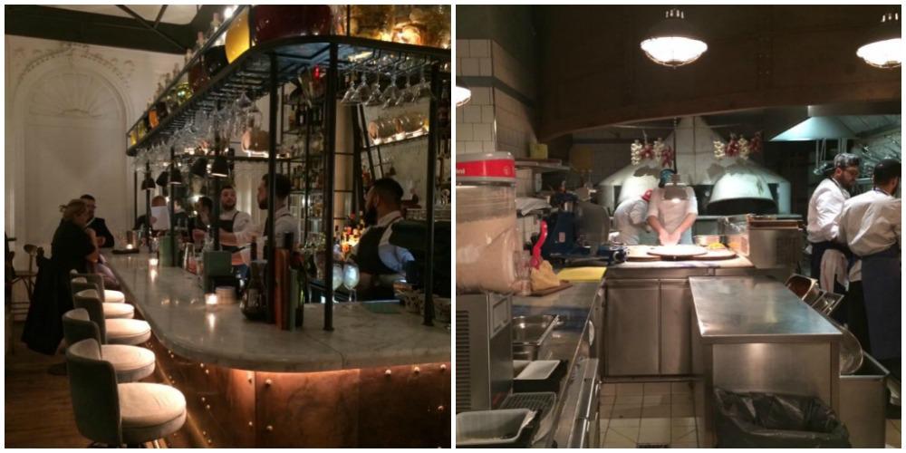 Big Mamma, bar e zona pizzeria