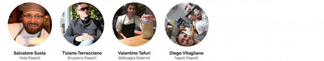 i pizzaioli candidati al sondaggio mysocialrecipe