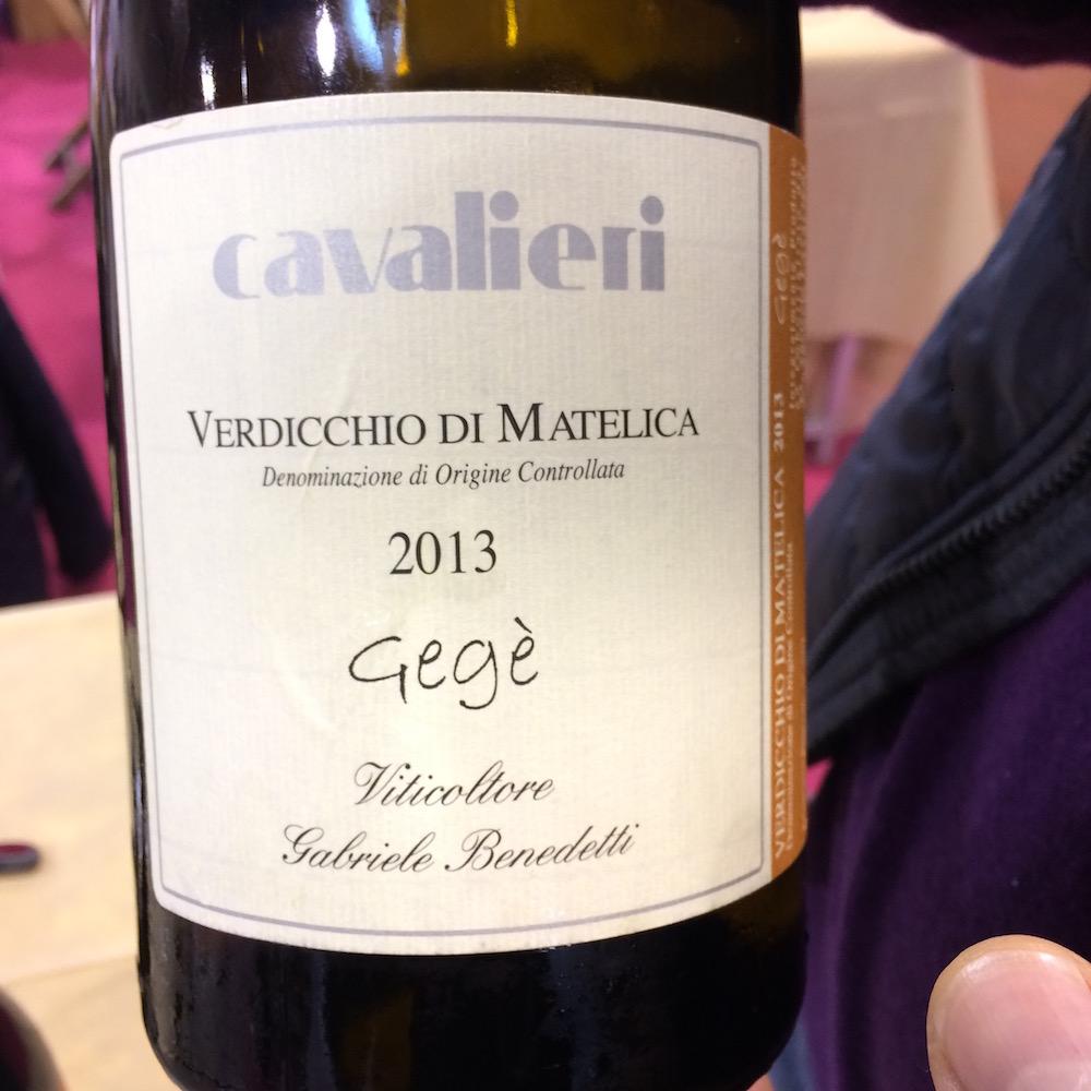 Cantina Cavalieri - Verdicchio Gege' Doc