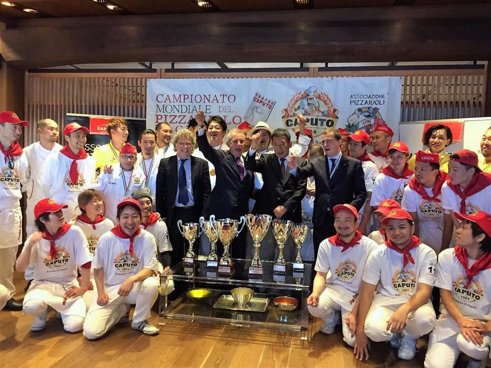 Caputo Cup in Giappone - premiazione