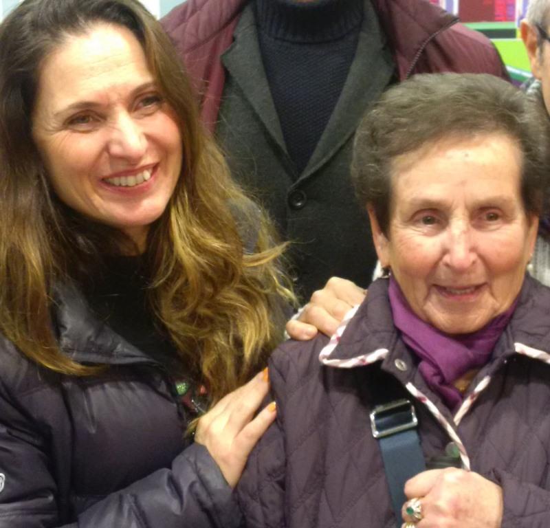 Dina e Natascia Santandrea della Tenda Rossa di Cerbaia