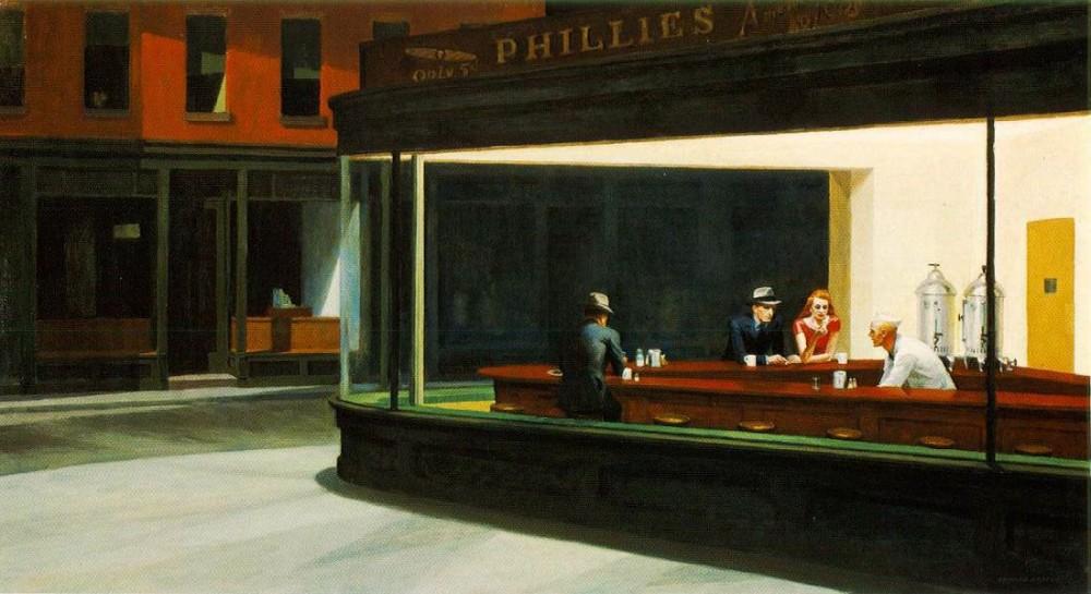 E. Hopper -Nighthawks