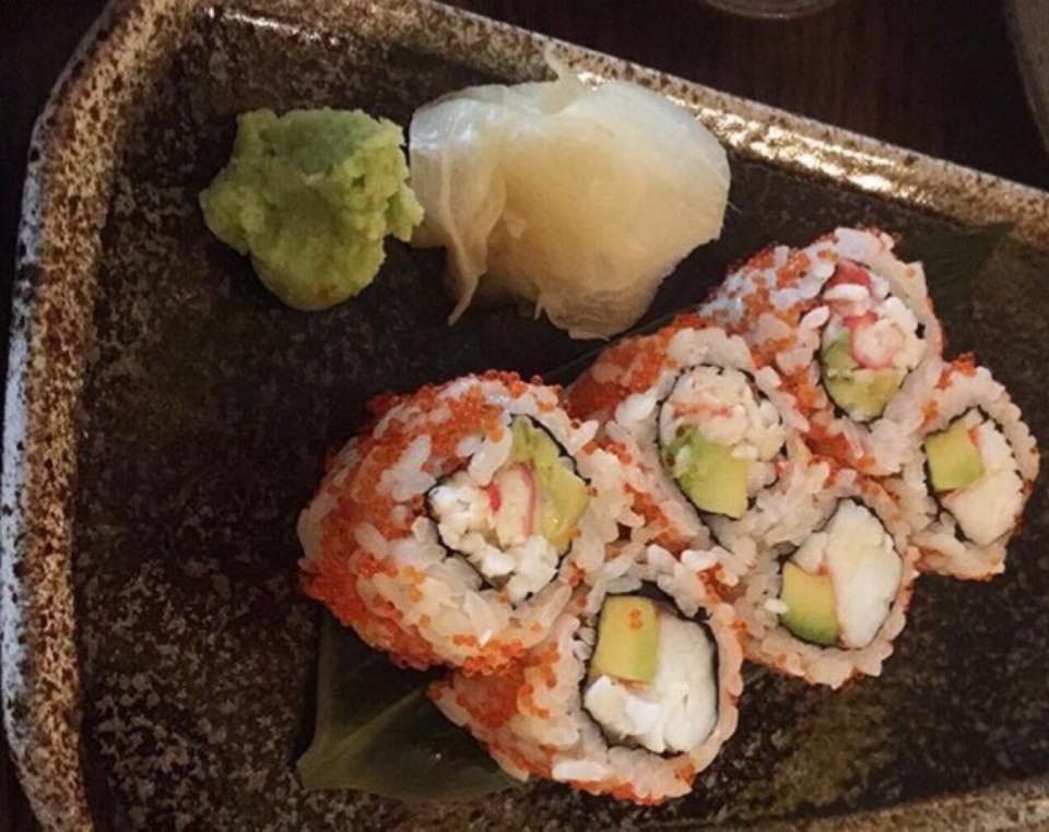 Sexy fish,  california roll