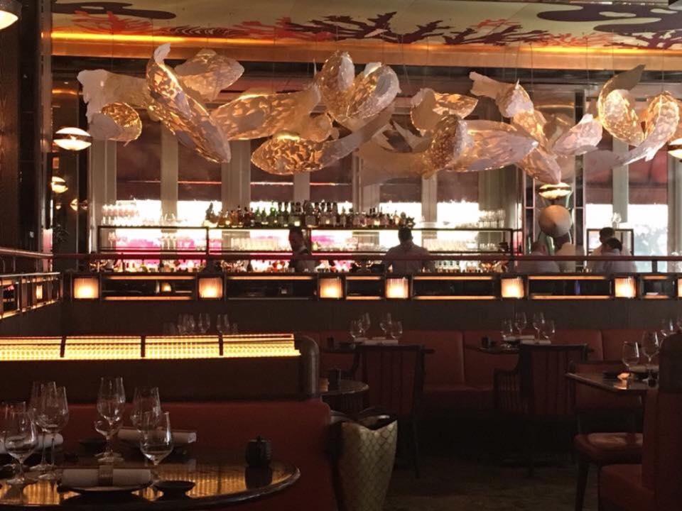 Sala bar del Sexy fish - coral reef room