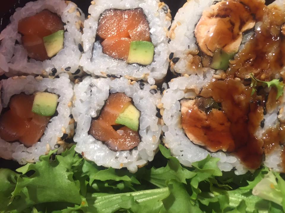 Gourmeet Meets Jorudan Sushi   Sake California Roll Crudo E Cotto