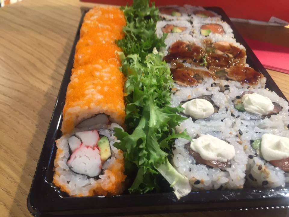 Gourmeet Meets Jorudan Sushi  Dettaglio Dei Roll