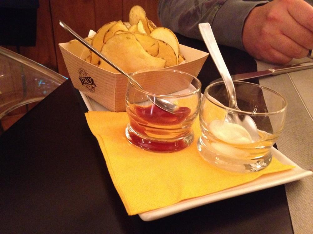 Giu' al Mulino, appetizer