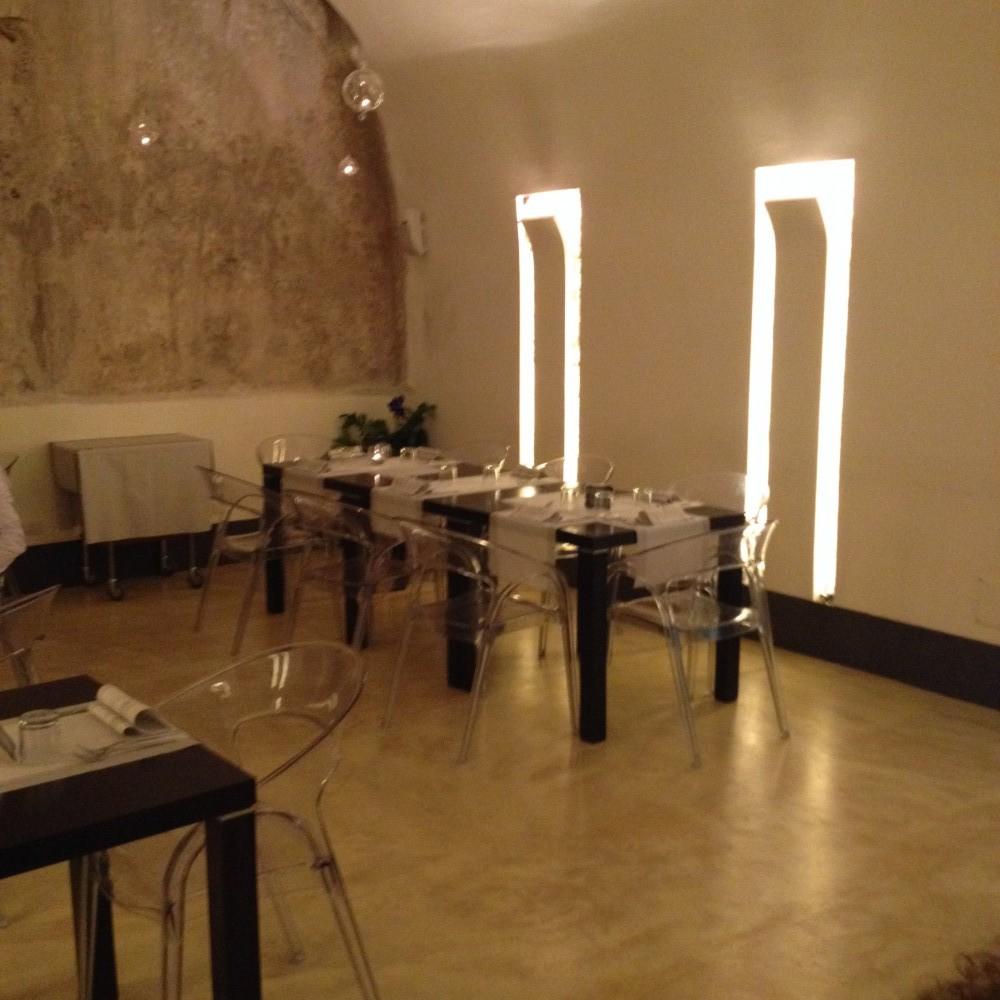 Giu' al Mulino, sala ristorante