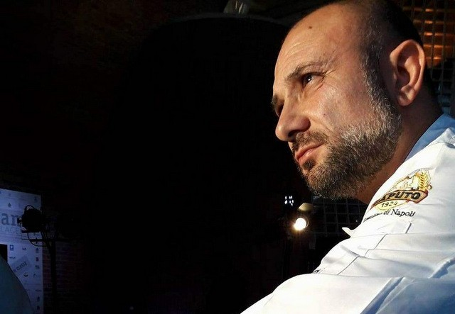 Gnam Napoli Giuseppe pignalosa con la margherita con fiordilatte da latte nobile