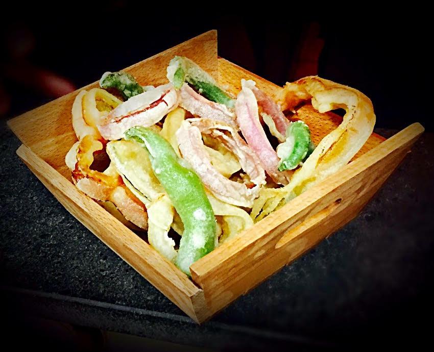 Granafine, la tempura di verdure fresche di stagione