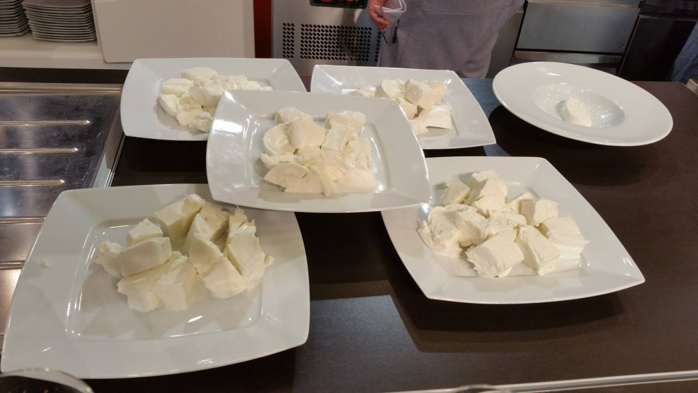 Grand Tasting, mozzarella