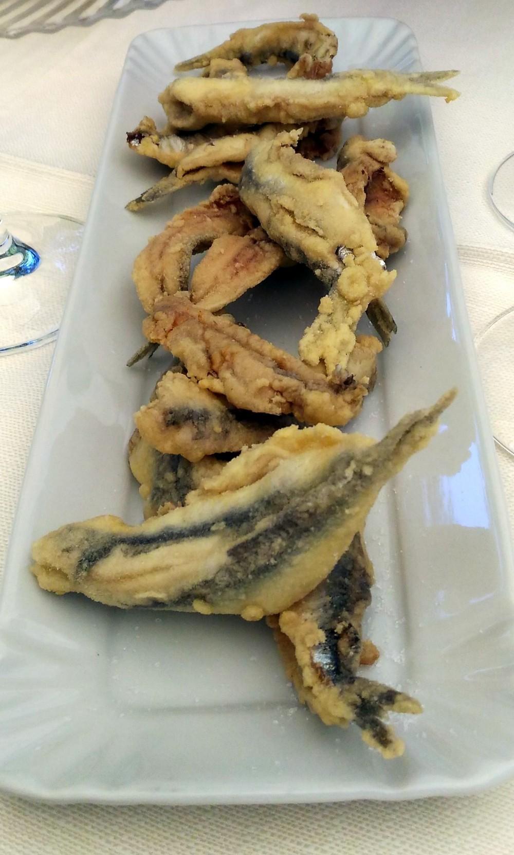 Il Vecchio Mulino 1834, fritto di alici... del Calore