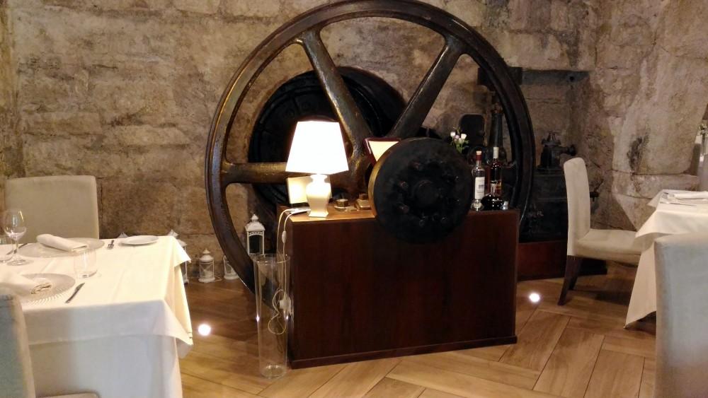 Il Vecchio Mulino 1834, la ruota del mulino