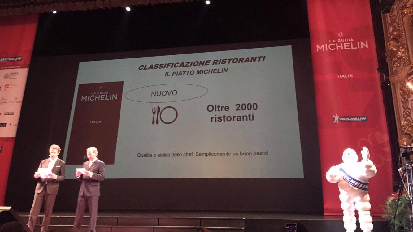 La presentazione Michelin 2017, in diretta