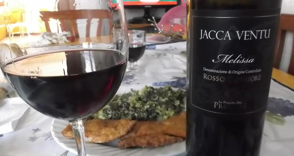 Jacca Ventu Melissa Rosso Superiore Doc 2012 La Pizzuta del Principe