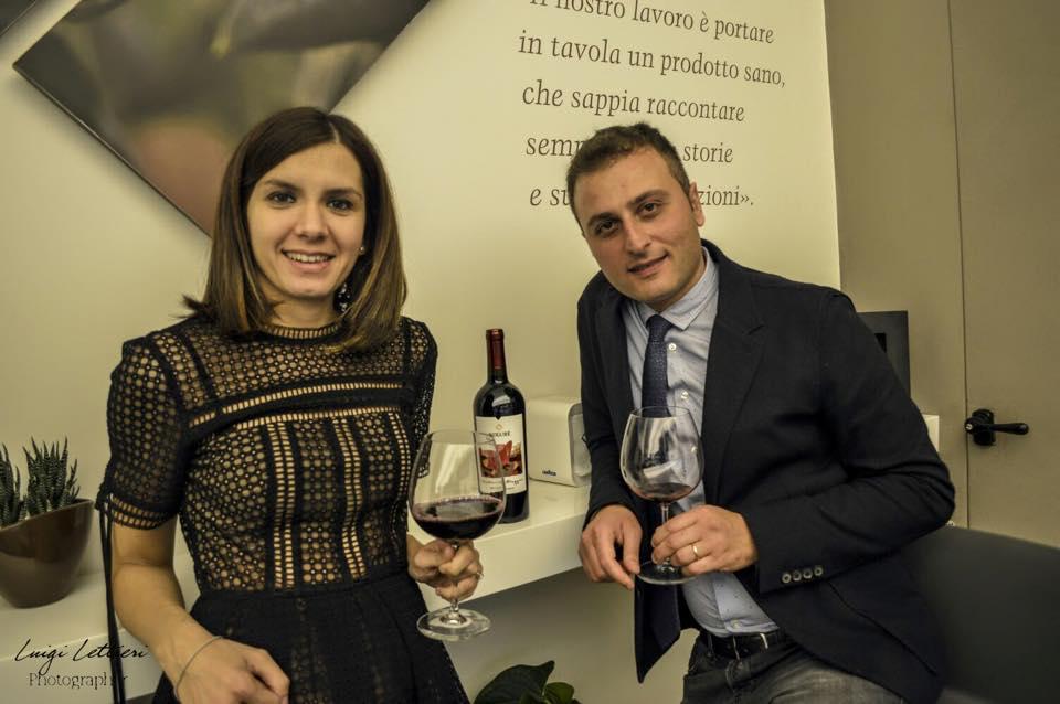 Luigi Alfano e Lucia Alborea