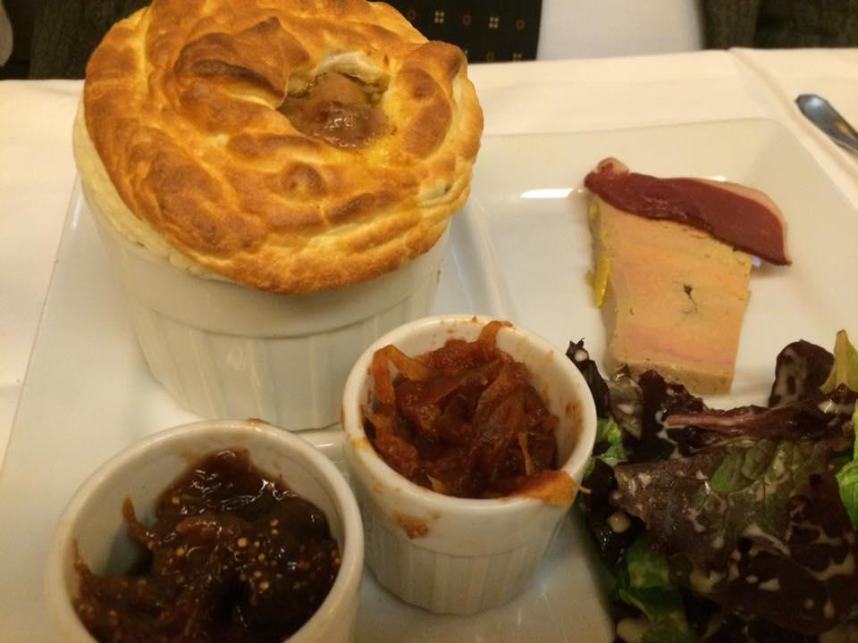 Le Souffle, al foie gras