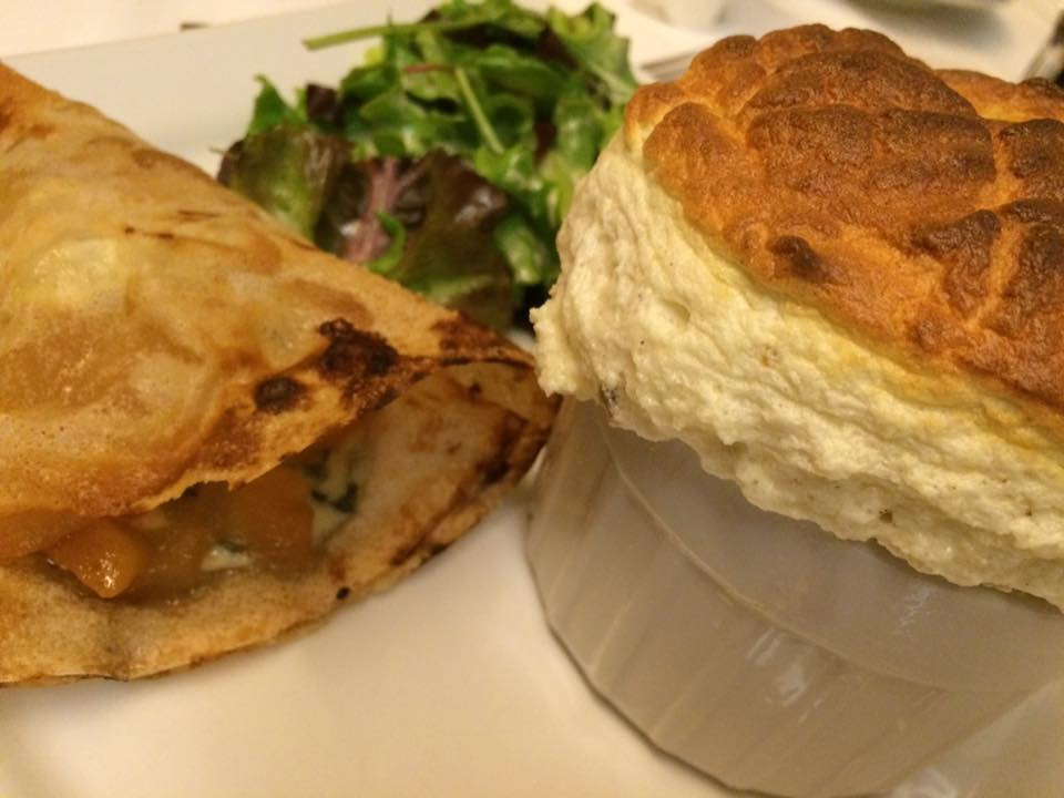 Le Souffle, alle pere e roquefort