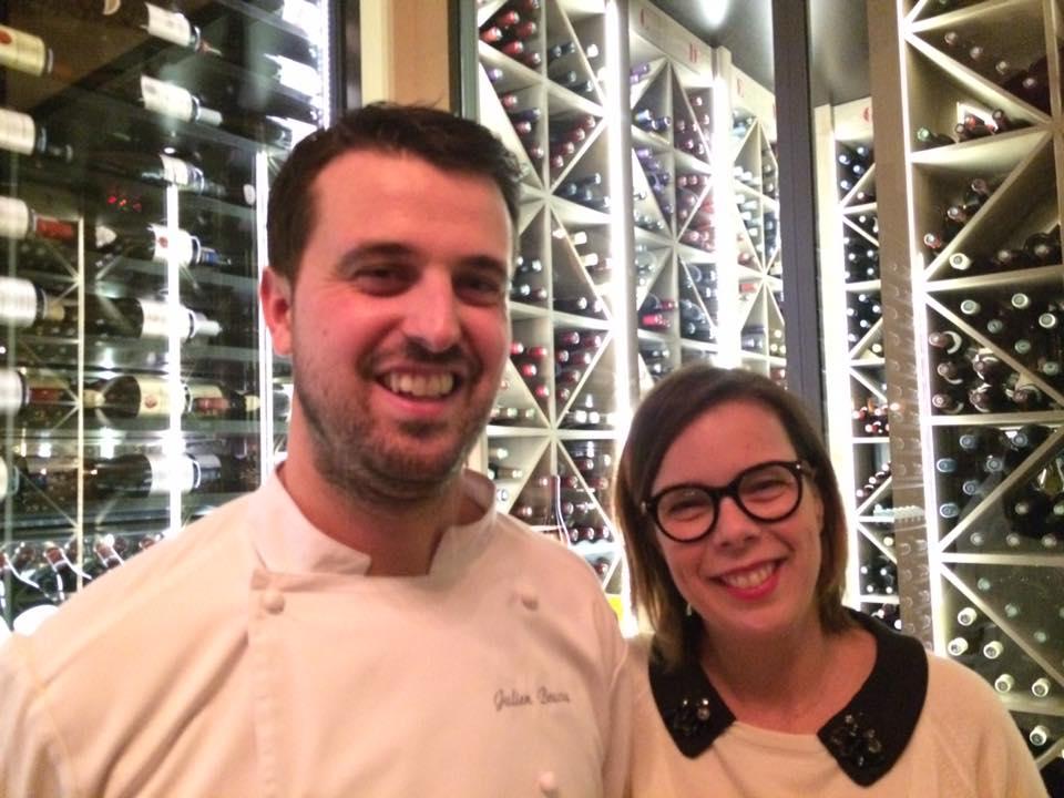Les Climats, la proprietaria Carole Colin e lo chef Julien Boscus