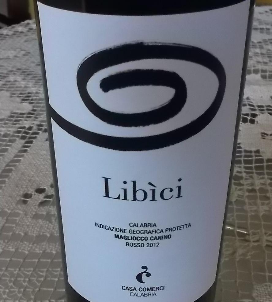 Libi'ci Calabria Igp Magliocco Canino Rosso 2012 Casa Comerci