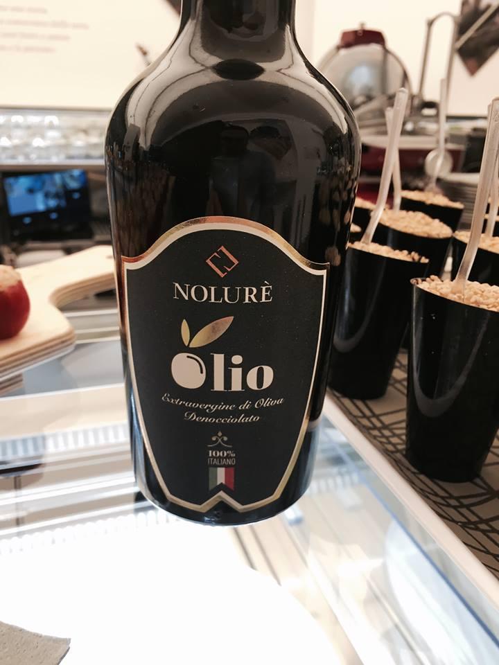 Nolure', l'olio