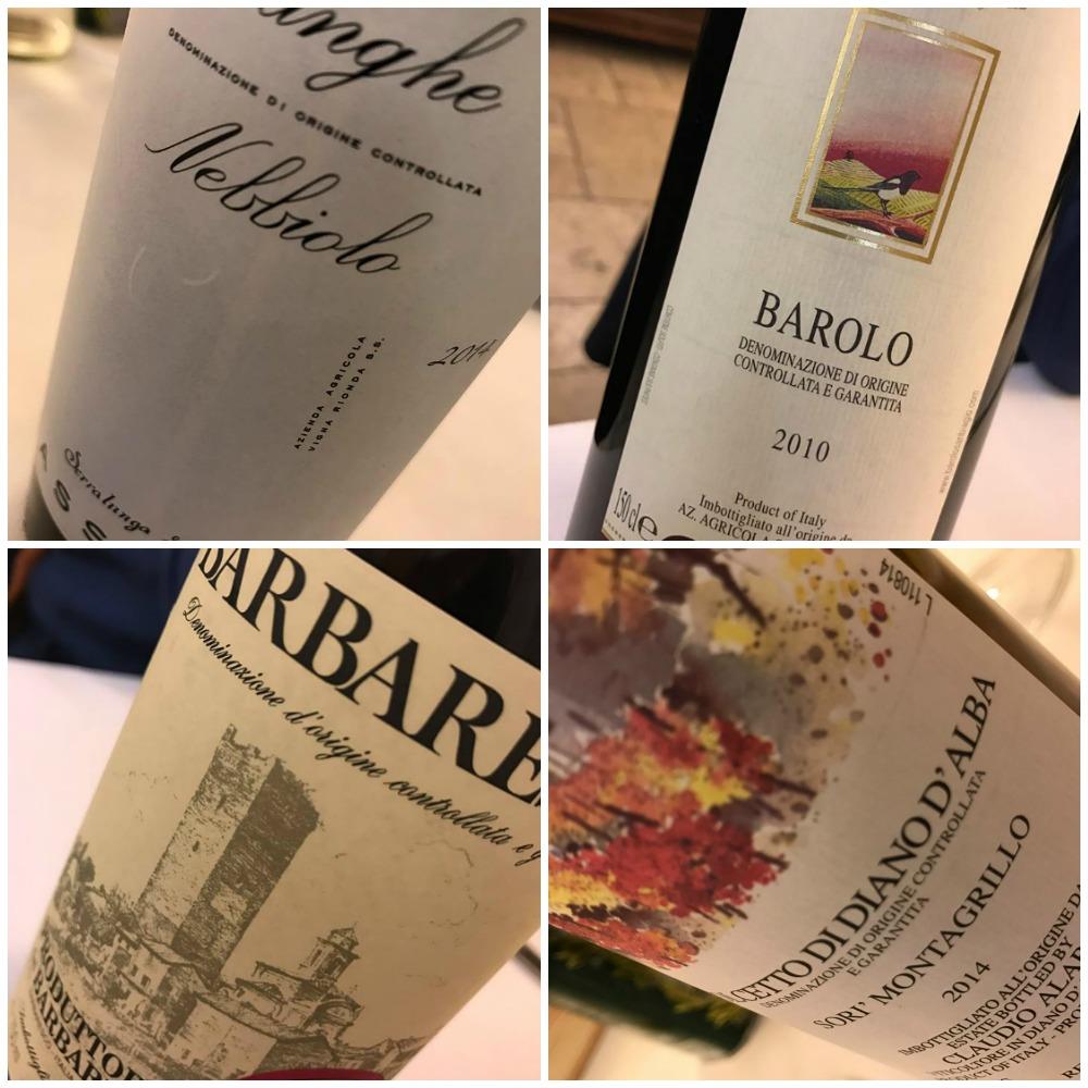 Osteria del Vicoletto, i vini