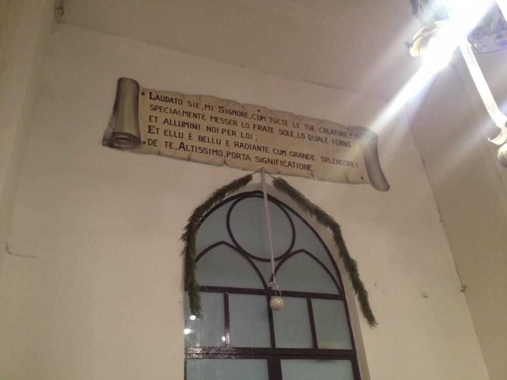 Pasticceria del Convento, cantico creature