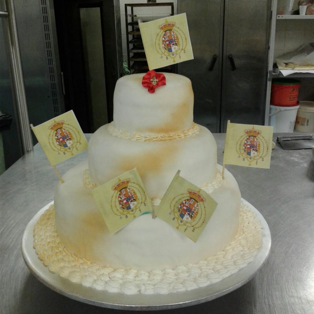 Pasticceria del Convento, torta decorata