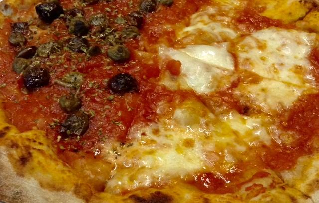 RISE, dettaglio storico di una mia pizza al Paradiso