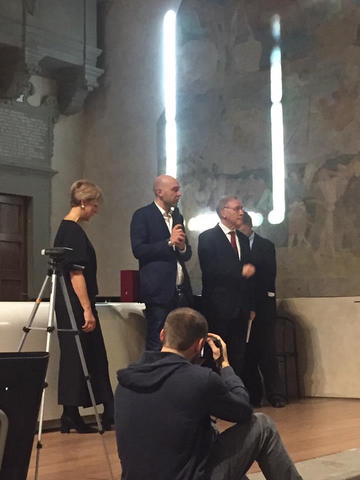 Raffaele Barlotti premiato dalla Stampa Estera