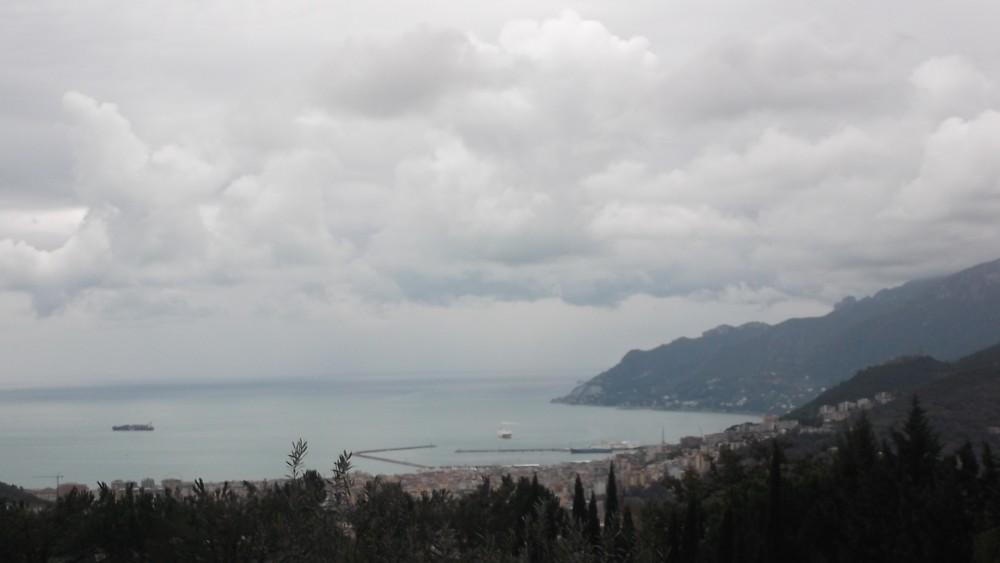 Ristorante Emozionando, Panorama di Salerno dal locale