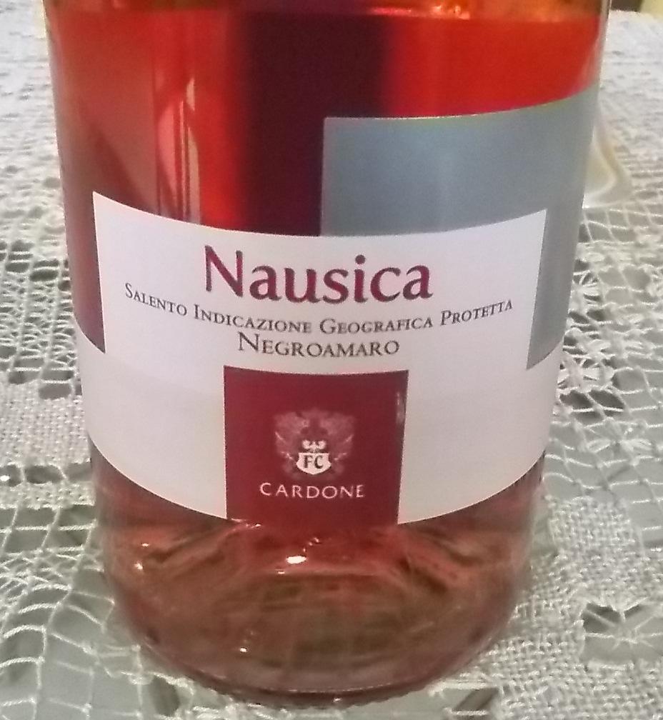 Salento Nausica Negroamaro Rosato Igp 2015 Cardone