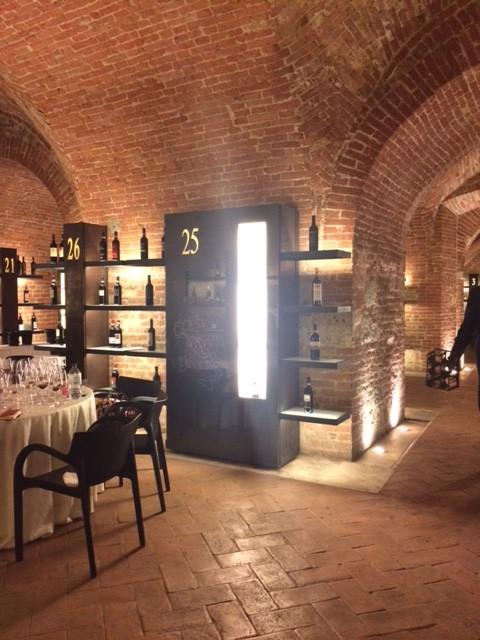 Siena Fortezza Medicea dove si e' svolta la degustazione